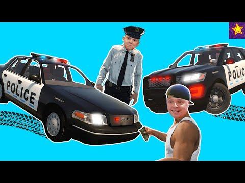 Ловим ПРЕСТУПНИКОВ в АМЕРИКЕ!!! Как ИГОРЬ стал Американским Полицейским?!