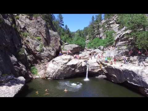 Hippie Hole - South Dakota- Cliff Jumping - DJI Phantom