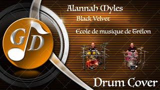 Alannah Myles - Black Velvet (DrumCover by Ecole de musique de Trélon