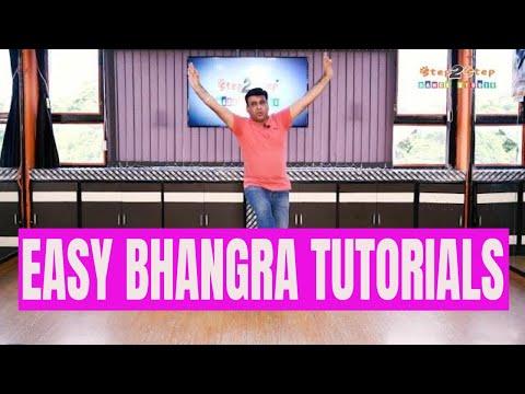 Bhangra Tutorials (Video 02) | Basic Bhangra Steps For Beginners | Step2Step Dance Studio | Mohali