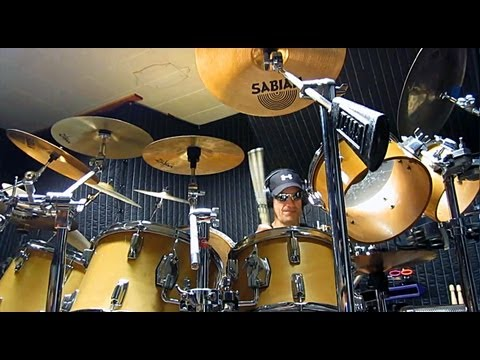 """Gino Vannelli - """"Appaloosa"""" Drum Cover By Alan Badia On TAMA Superstar Drums"""
