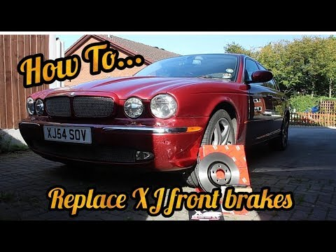 How To – Replace Jaguar XJ front brake discs and pads (X350)