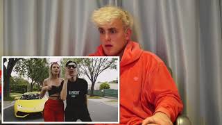 JAKE PAUL REACTS TO Its EveryNight Sis feat. Alissa Violet