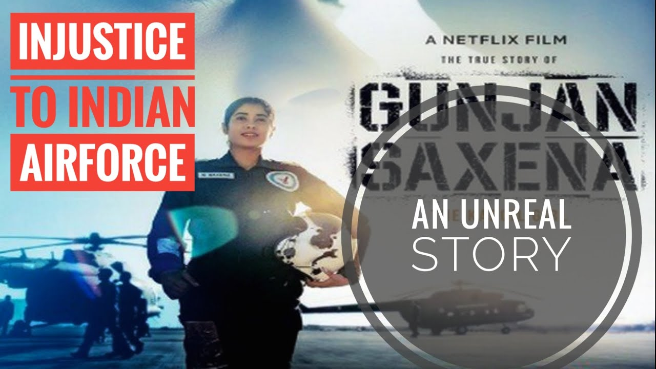 Gunjan Saxena The Kargil Girl Indian Airforce An Unrealistic Bollywood Masala Youtube