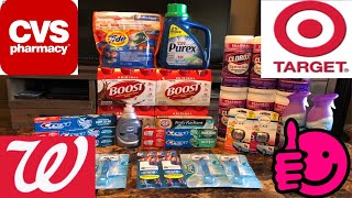CVS/WAGS/TARGET COUPONING HAUL! ABSOLUTELY AWESOME DEALS!