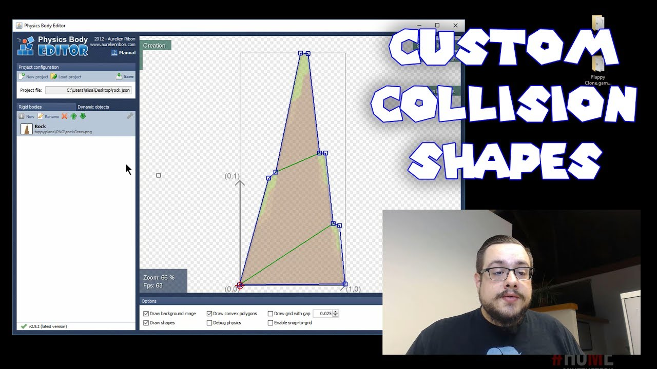 Gamesalad custom collider - Using Physics Body Editor To Create Custom Collision Shapes For Gamesalad