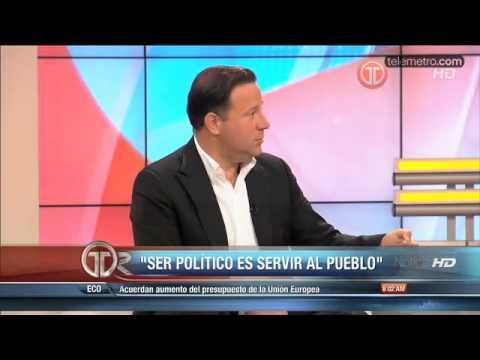 Entrevista del Vicepresidente Juan Carlos Varela