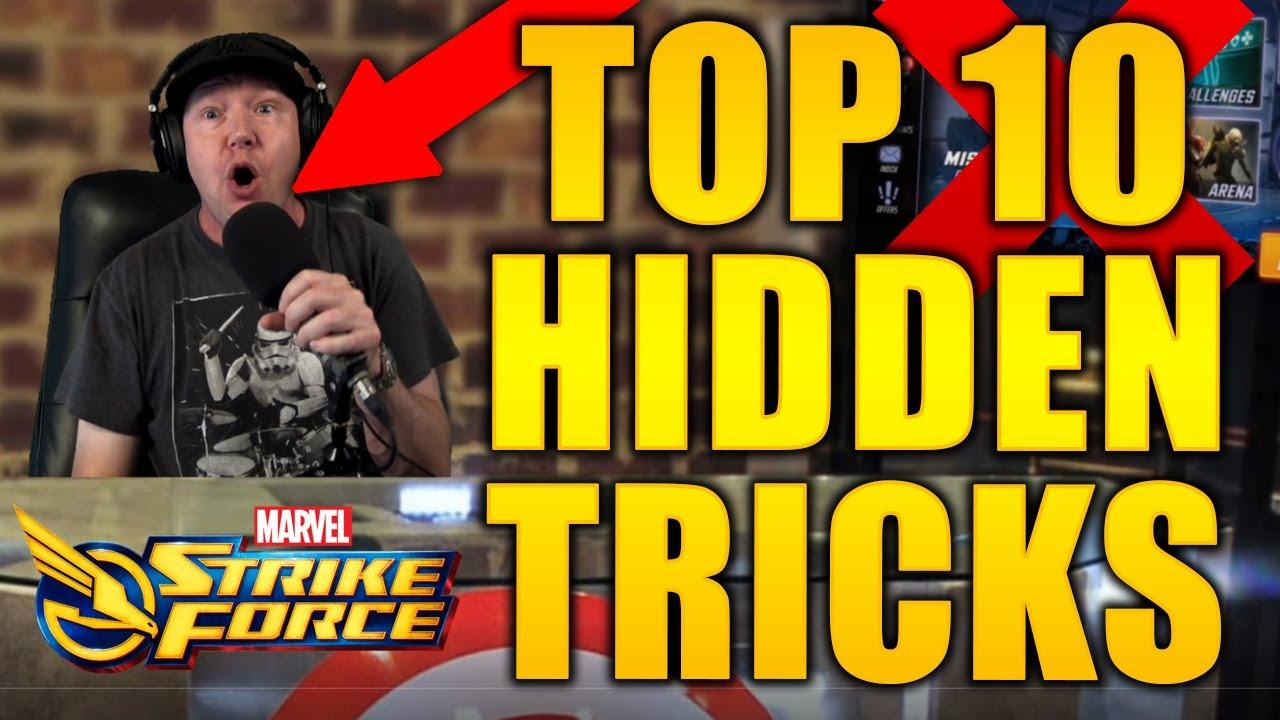Top 10 Secret Tips to MARVEL Strike Force - MSF - Life Hacks
