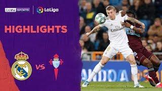 Real Madrid 2-2 Celta Vigo | Laliga 19/20 Match Highlights