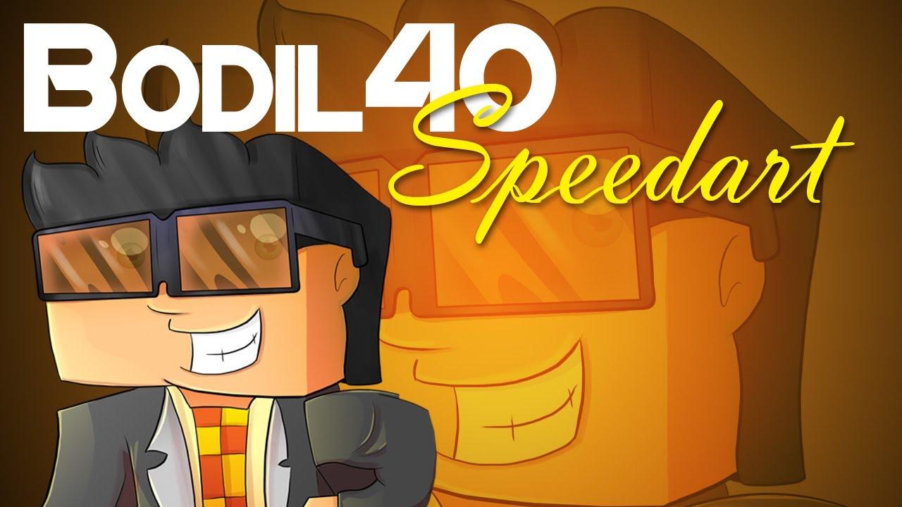 Minecraft Speedart - Bodil40 - YouTube