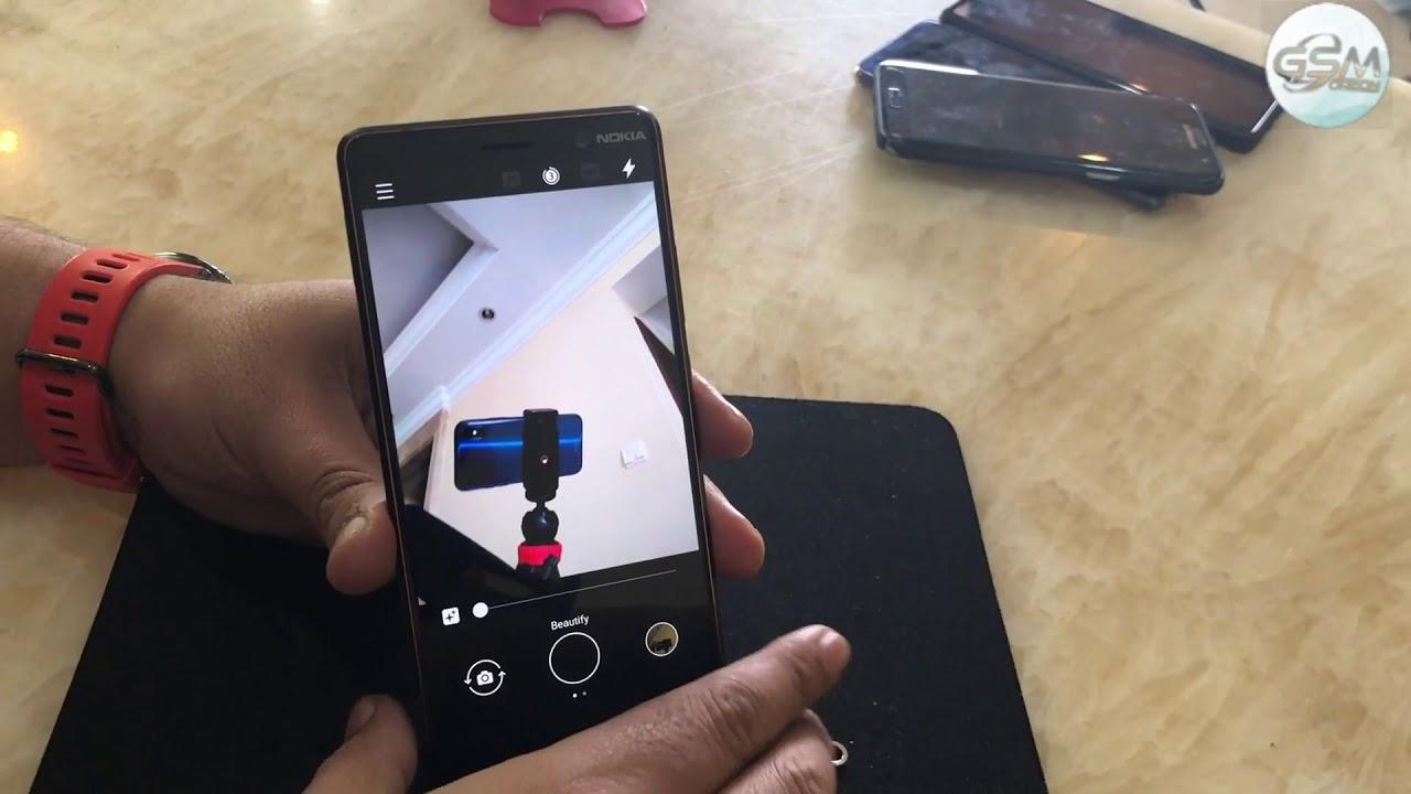 Nokia 7 Plus Camera UI Explained - Stock Camera ? Hindi