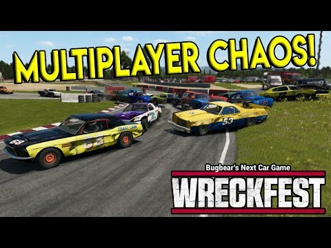 INSANE MULTIPLAYER DERBY & RACES! - Next Car Game: Wreckfest Gameplay - Wrecks & Races