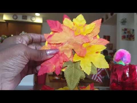 DIY: Autumn Coasters DIY..very fast way DIY