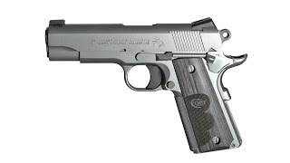 NRA Gun of the Week: Colt Wiley Clapp Stainless Commander Pistol
