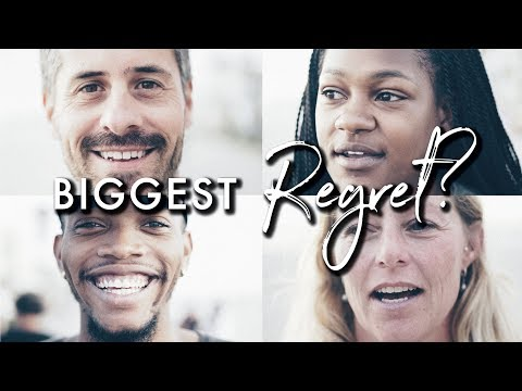 30 People 1 Question {Day 3} Biggest Regret?