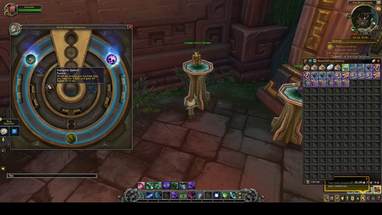 Demon Hunter Dungeons Gear Azerite Traits WoW by ZaFrostPet