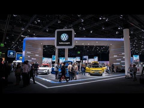 Volkswagen at the International Motor Show Frankfurt 2017