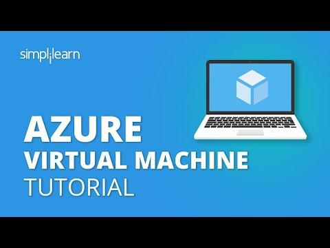 Azure Virtual Machine Tutorial | Creating A Virtual Machine In Azure | Azure Training | Simplilearn