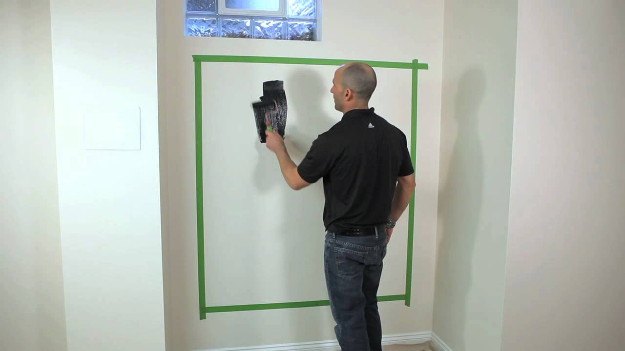 How To Paint A Chalkboard Using Chalkboard Paint Youtube