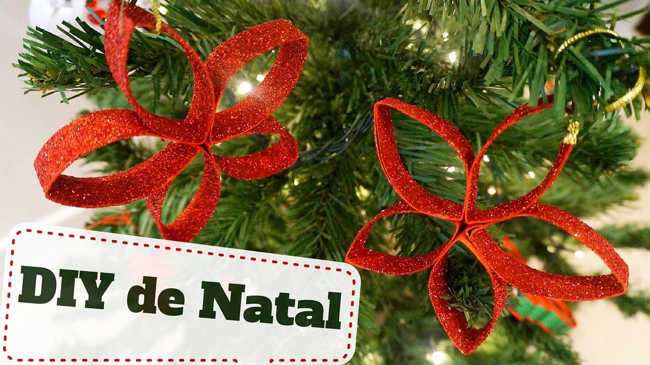 Decoração De Natal Baratinha 2 Enfeite De Natal Com Material