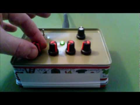 Handmade Four Oscillator Sound Generator