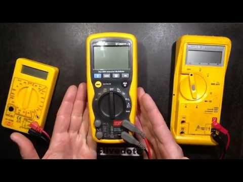 Test and look inside Amecal  ST-9927T multimeter.