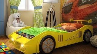 Кровать машина из МДФ Макларен от orbita-mebel.ru