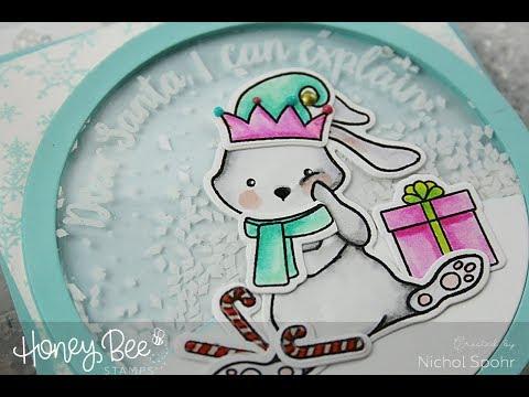 Blah Humbunny Snow Globe Shaker