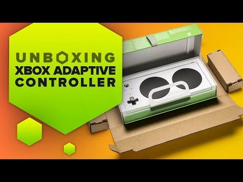 Unboxing The Xbox Adaptive Controller From Microsoft's New Packaging Design