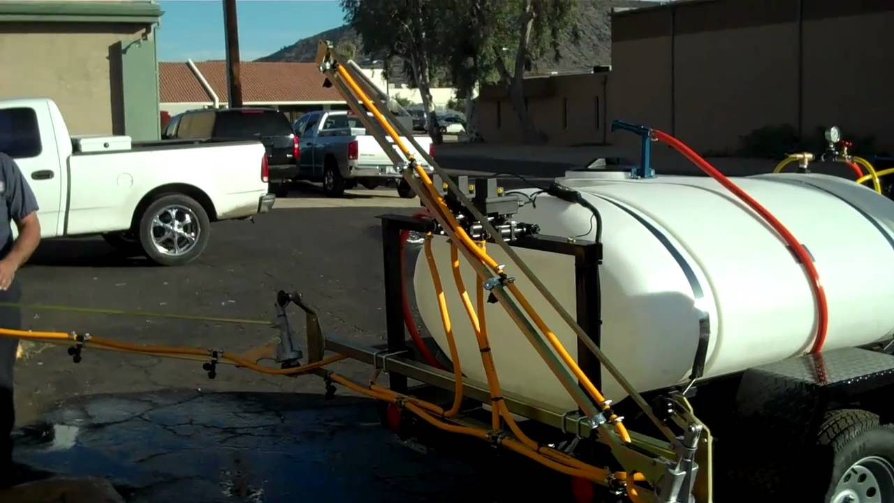 Learn About Our 300 Gallon Weed Control Sprayer Trailer & Boom