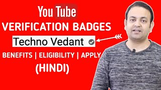 Apply for channel verification badges | How to apply youtube badges | Techno Vedant