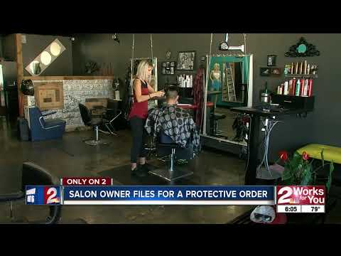 Accused salon vandal won't talk to lawyer