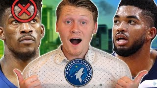 NO BUTLER, NO PROBLEM! TIMBERWOLVES REBUILD NBA 2K19!