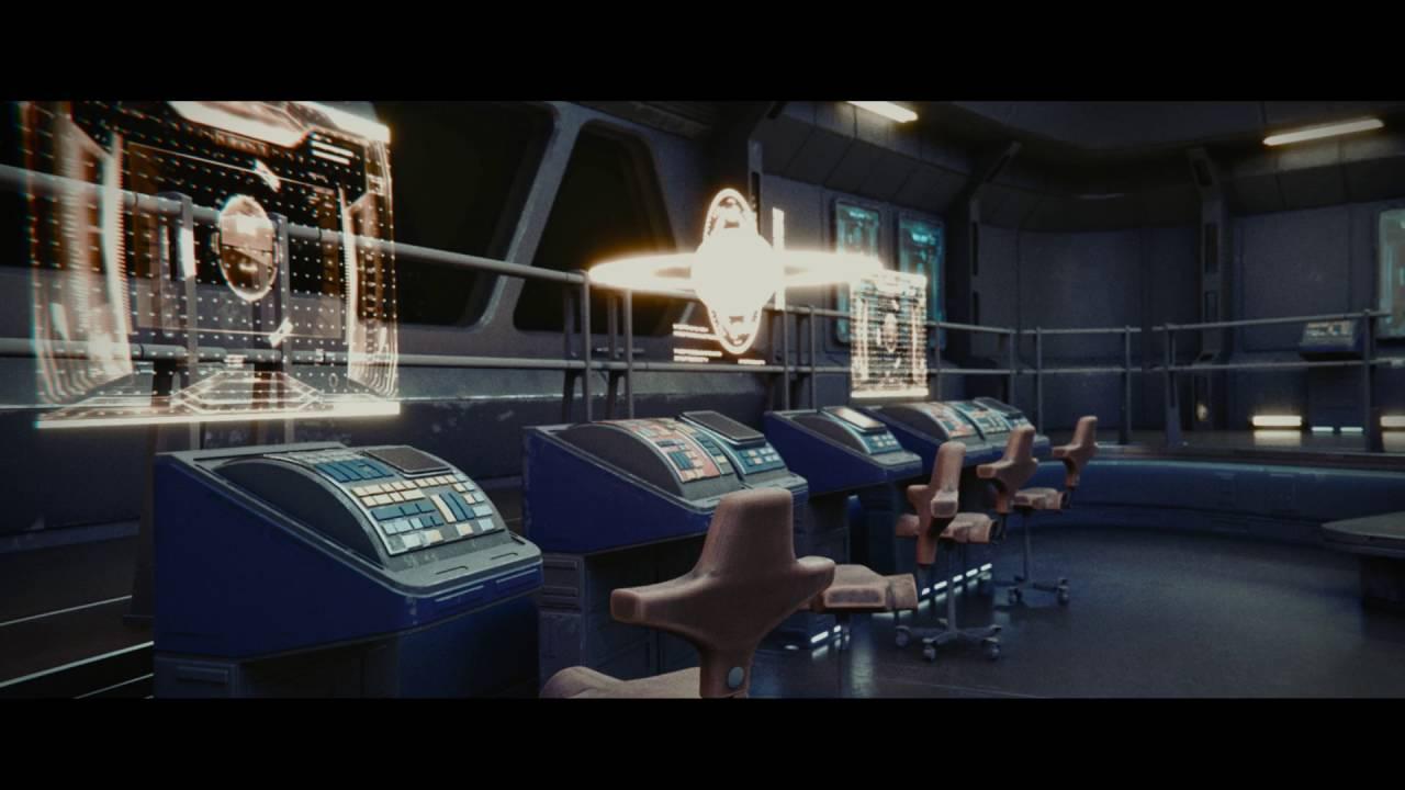 Daniel Brown's Impressive Spaceships Interiors - BlenderNation