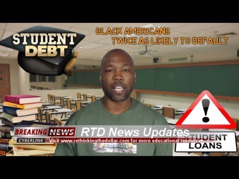 (Student Loans) Black Americans Twice As Likely To Default