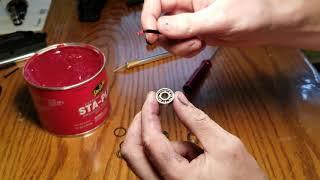 Traxxas maxx 4s how to grease the wheel bearings