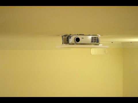 DIY Projector Lift - Optoma HD65