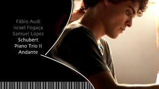 Fabio Audi - Schubert piano trio II - Andante