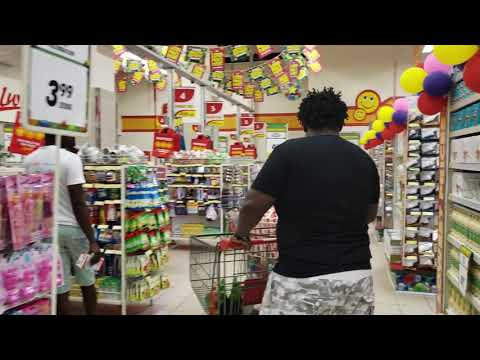 Grocery Shopping in Accra,Ghana