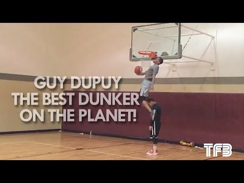 Guy Dupuy is the BEST DUNKER on the Planet!