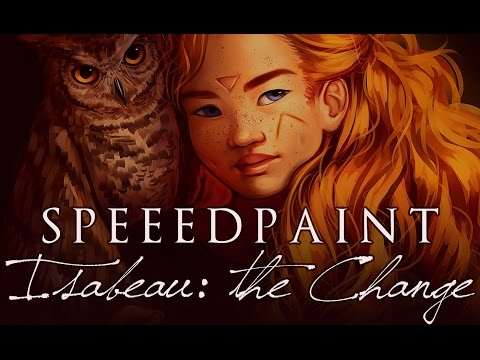 "[speed paint] Paint Tool SAI - ""ISABEAU: THE CHANGE"" (""Witches of Eileanan"" Fanart)"