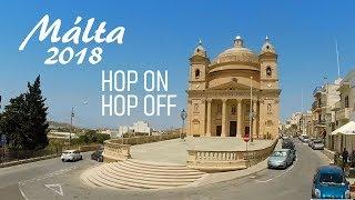 Málta – Hop on-hop off