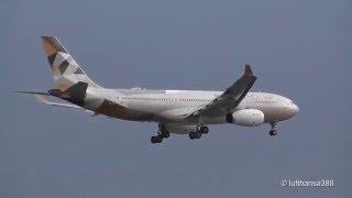 Saturday Morning Heavies at Frankfurt Airport (B747,A380,MD-11F)