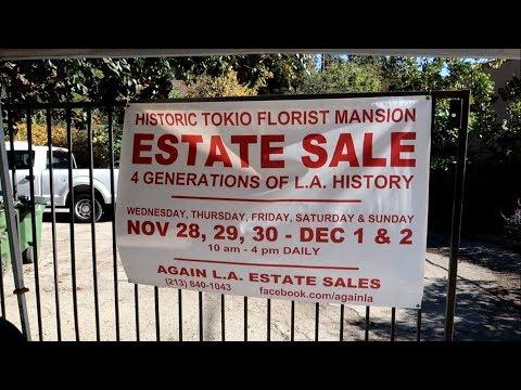 #852 Inside A 4th Generation MANSION ESTATE Sale - Jordan The Lion Daily Travel Vlog (12/6/18) trip