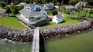 deltaville waterfront home on the chesapeake bay
