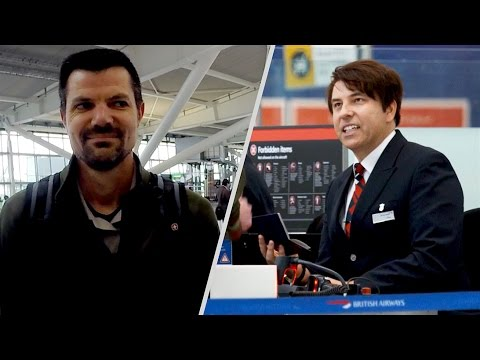 British Airways teams up with celebrities for Red Nose Day 2017