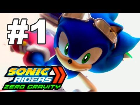Прохождение Sonic Riders: Zero Gravity (Wii) #1 - Heroes