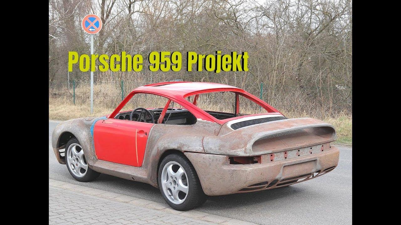 Porsche 959 Umbau Youtube