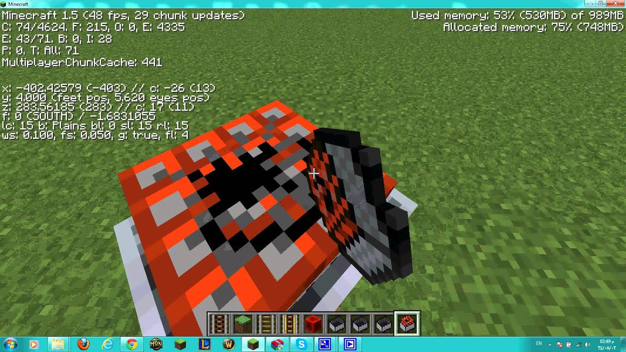 how to use a minecart with tnt