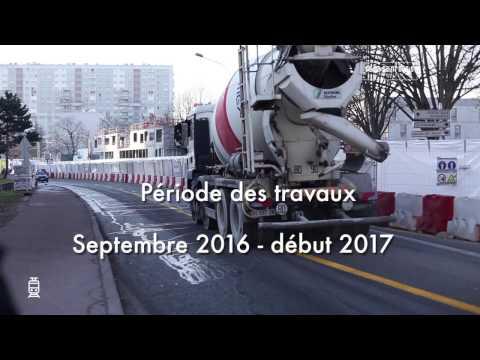 Aménagement de l'Avenue Henri-Barbusse à La Courneuve (RD 30)